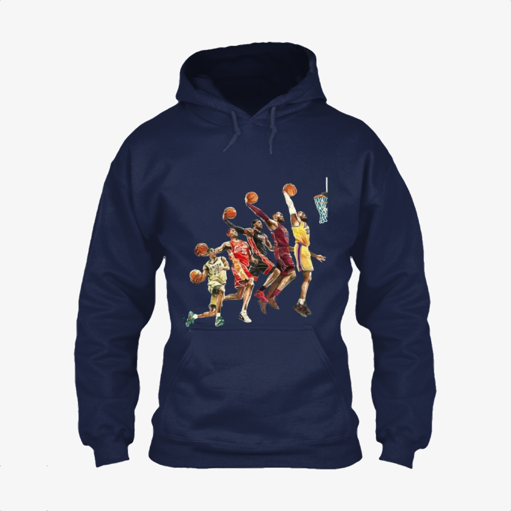The Evolution, Lebron James Classic Hoodie