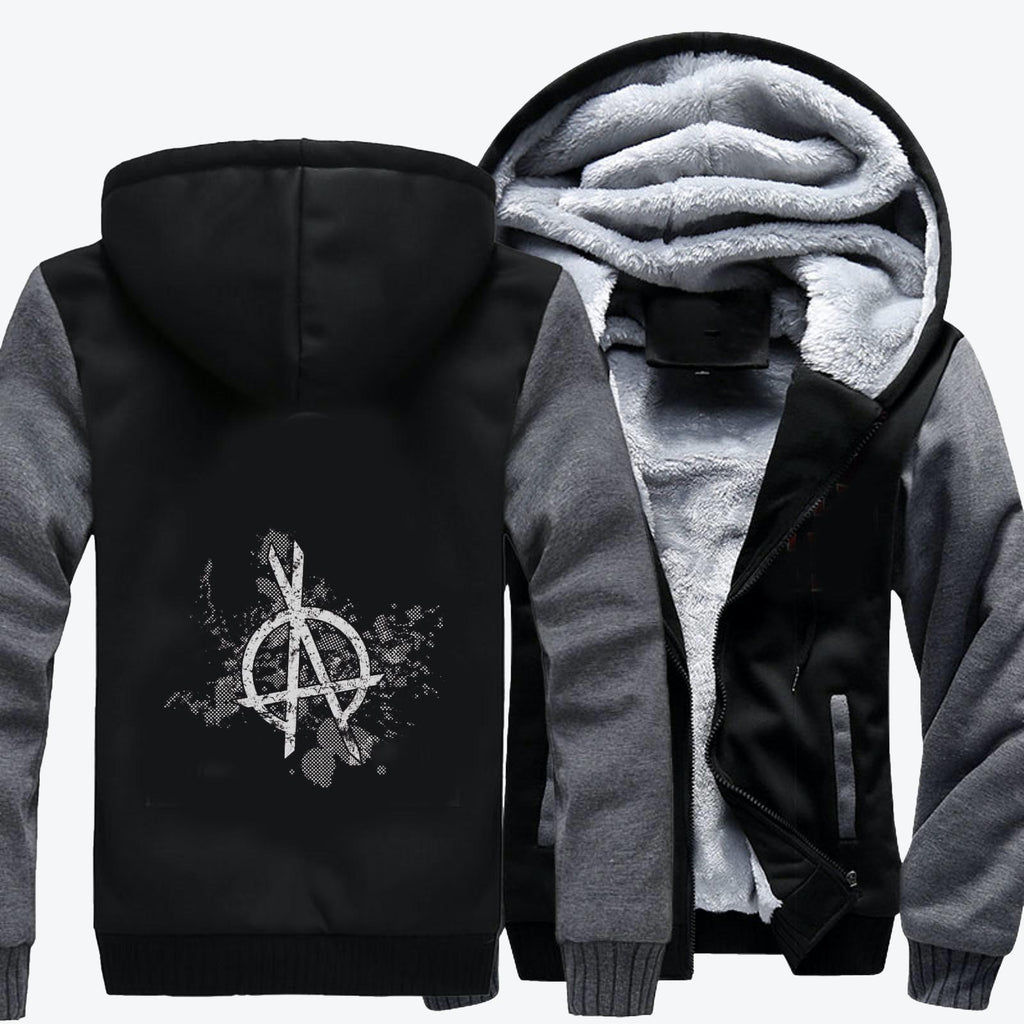 Opa Symbol Grunge, The Expanse (tv Series) Fleece Jacket