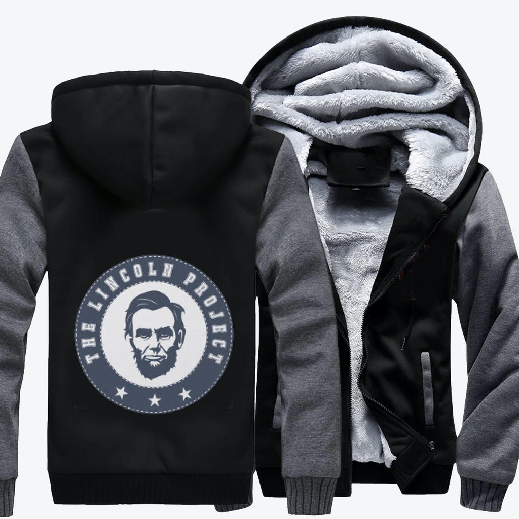 The Lincoln Project-1, Abraham Lincoln Fleece Jacket