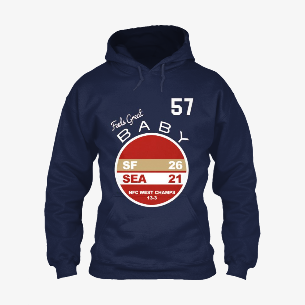 Western Division Champs, Jimmy Garoppolo Classic Hoodie