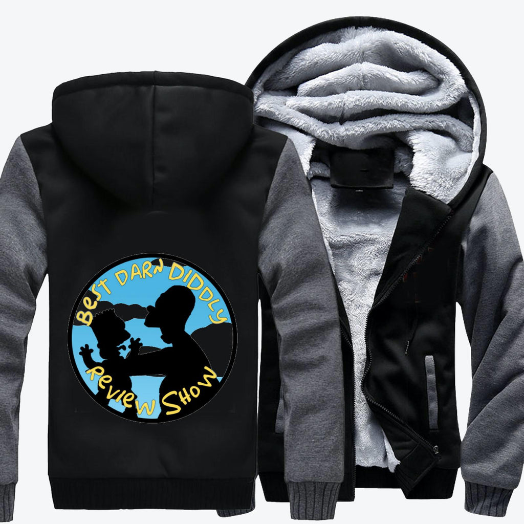 Best Darn Diddly, The Simpsons Fleece Jacket