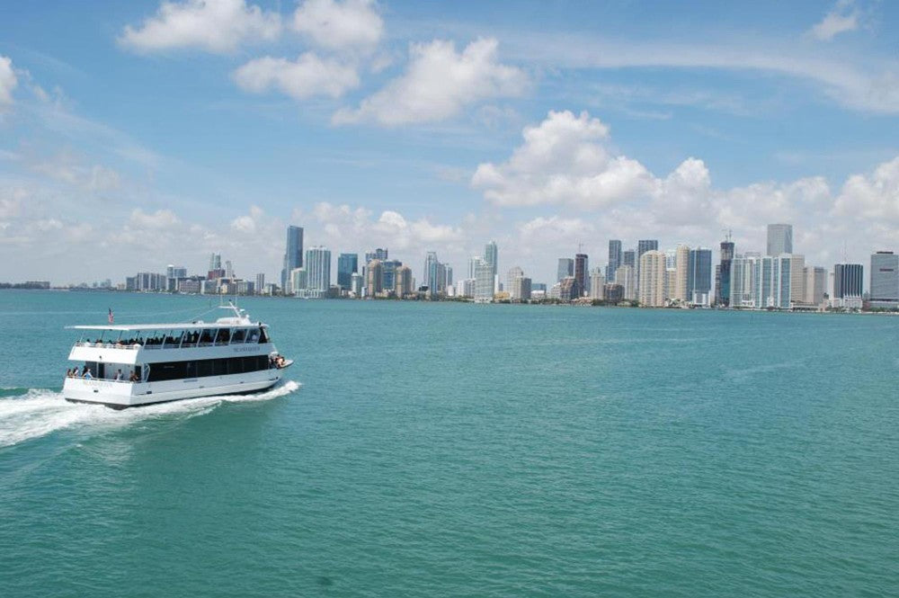 Miami City Boat Tour plus a FREE Bicycle Rental in South Beach
