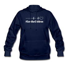 Load image into Gallery viewer, Women's Hoodie - navy