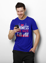 Load image into Gallery viewer, Kindness One Size Fits All Heartbeat T-Shirt