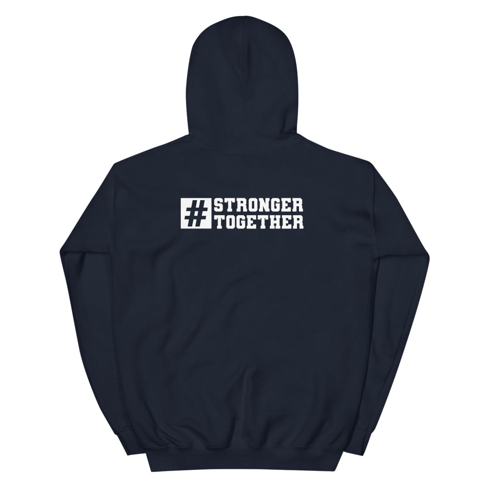 # Stronger Together Hashtag Hoodie