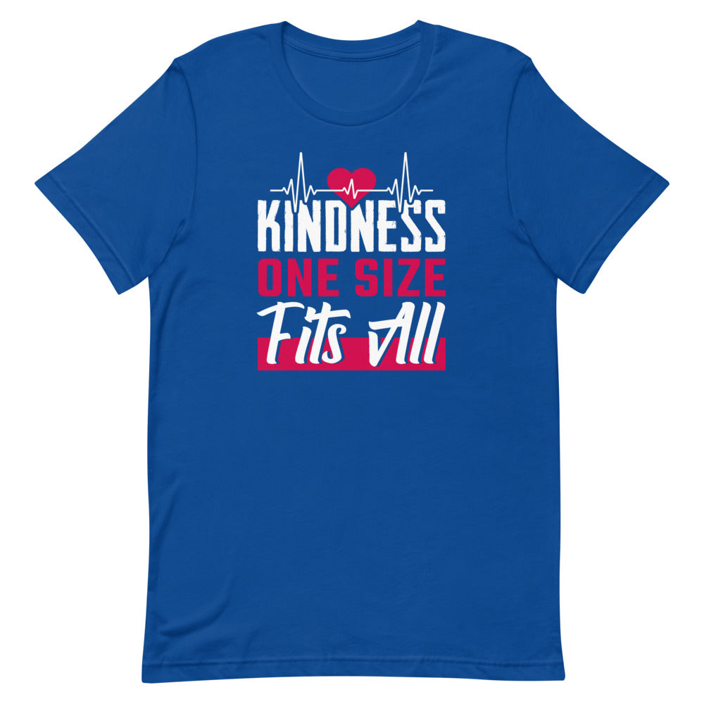 Kindness One Size Fits All Heartbeat T-Shirt