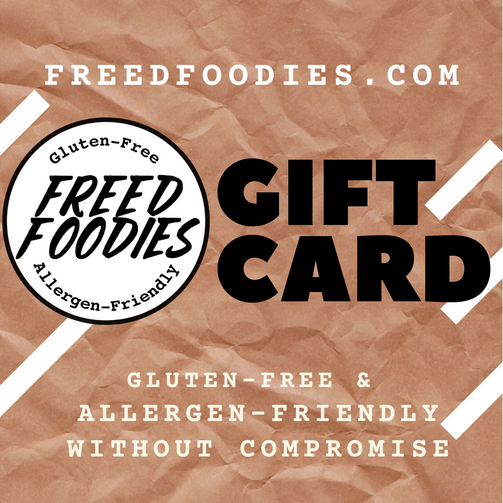 Freed Foodies Gift Card