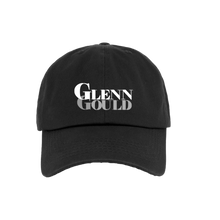 "Load image into Gallery viewer, ""Gold Glenn Text"" Cap White/Gray"