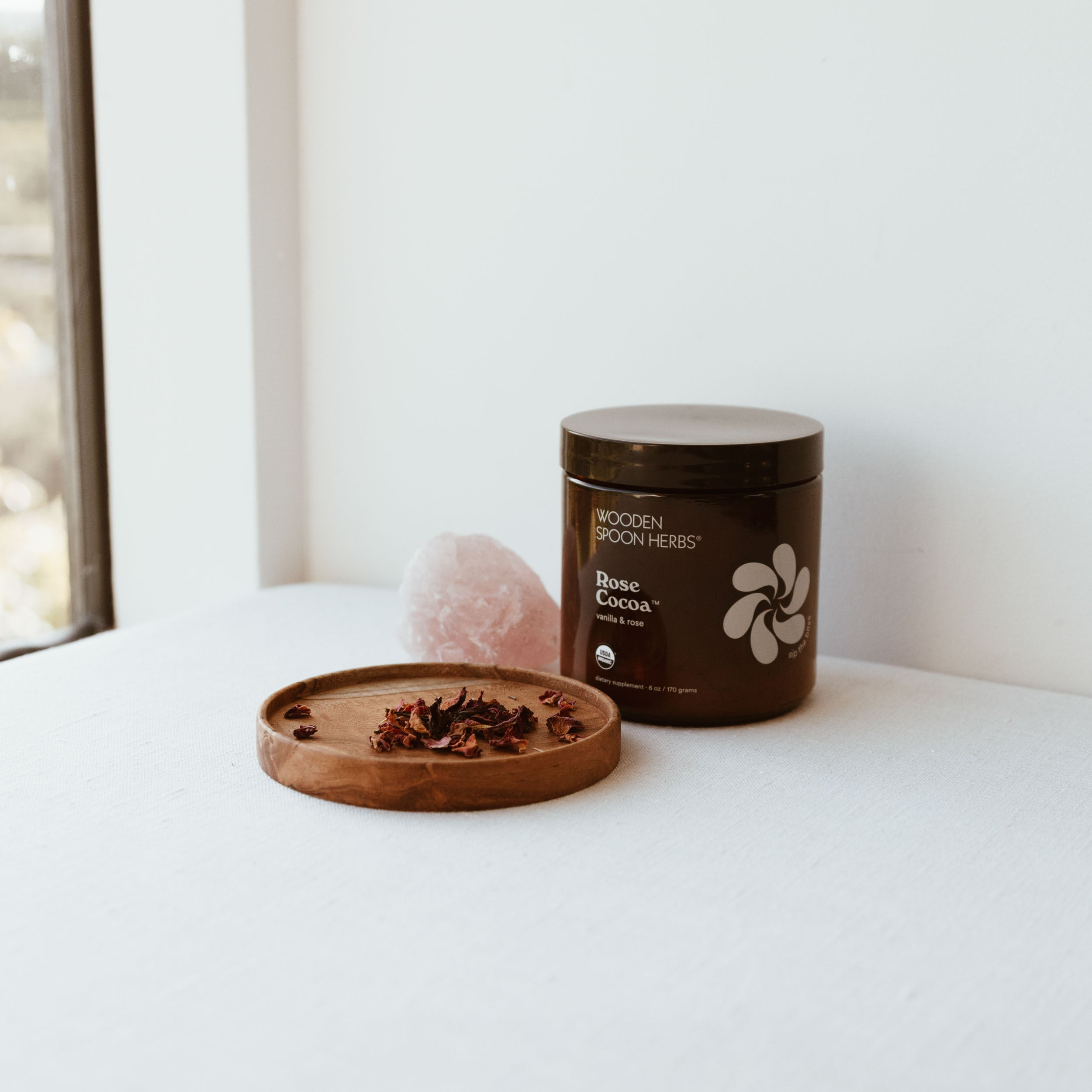 Wooden Spoon Herbs Australian Stockist Rose Cacao