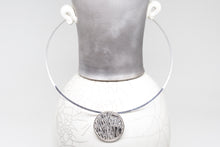 Load image into Gallery viewer, Sterling Silver Etch Necklace