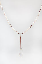 Load image into Gallery viewer, VNecklace with Barroque Pearls