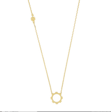 Load image into Gallery viewer, Medium Gear Necklace 18k Gold Plated