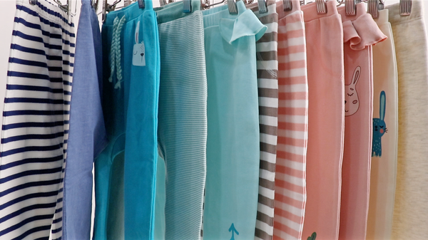 Baby Trousers on Hangers