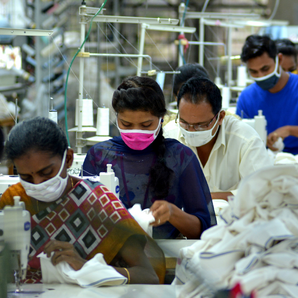 Garment Factory Workers in Truh's Production Facility