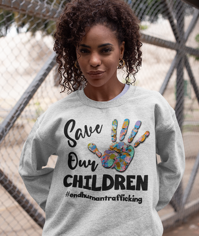 Save Our Children Sweatshirt  -STC1002