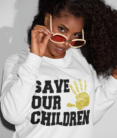 Save Our Children Sweatshirt  -STC1012