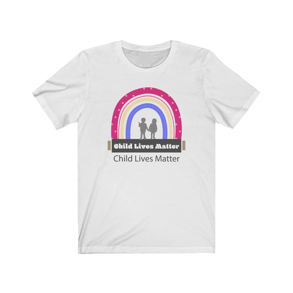 Child Lives Matter Statment Short Sleeve Tee  -STC1007