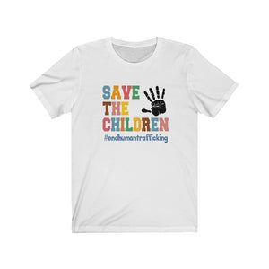 Save The Children Colorful Short Sleeve Statement Tee -STC1011