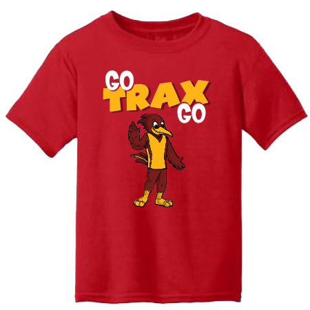 Go Trax Go Red Adult T-Shirt