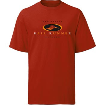 New Mexico RailRunner Red Adult T-Shirt