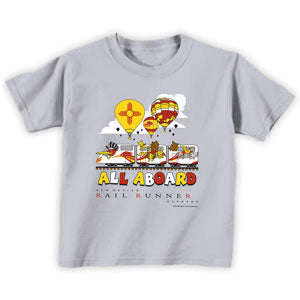 All Aboard Infant/Toddler Tee (Gray)