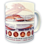 Rail Runner Station Logos 11oz Coffee Mug