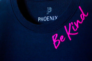 Phoenix | Be Kind (Navy & Fuchsia)