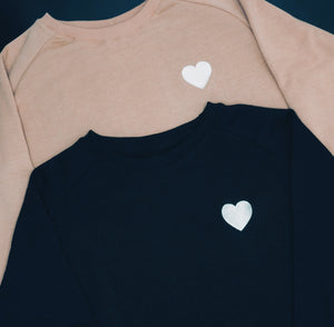 Black Heart Sweatshirt