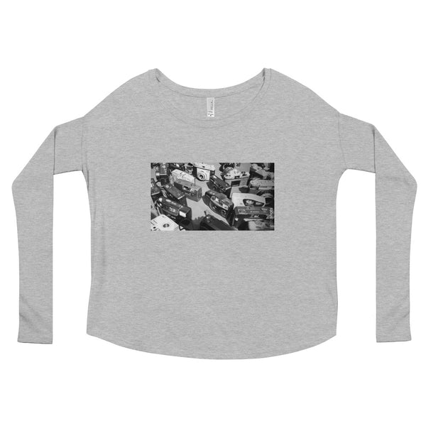 Cameras: Ladies' Long Sleeve Tee