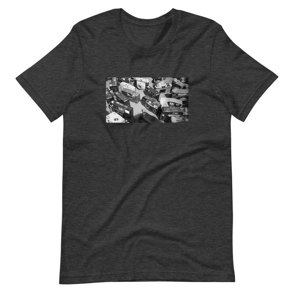 Cameras: Short-Sleeve Unisex T-Shirt