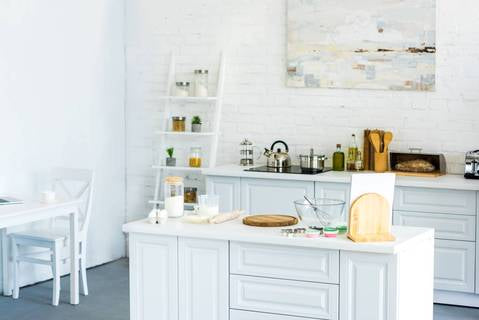 Save Space with a Kitchen Island