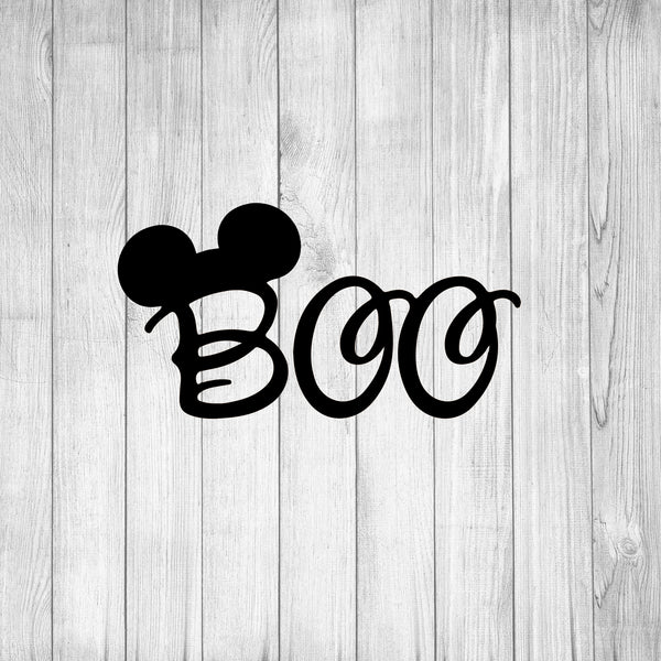 Mickey Mouse Boo Svg Boo Svg Disney Halloween Svg Halloween Hallowe Love Live And Laugh Svg