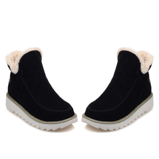 Fashion autumn and winter platform boots