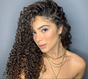 2020 Summer new curly hairstyle