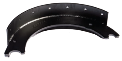 F224849 | UNLINED BRAKE SHOE | Replace 1308E