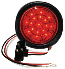 "F235101 | 4"" Round 17 LED Lights (12 Volts)"