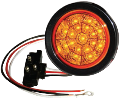 "F235111 | 4"" Round 17 LED Lights (12 Volts)"