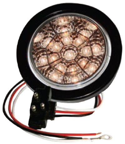 "F235113 | 4"" Round 17 LED Lights (12 Volts)"