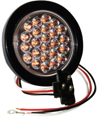 "F235119 | 4"" Round 24 LED Lights (12 Volts)"