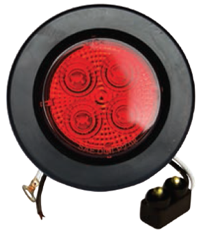 "F235124-24 | RED, 2.5"" Marker Light 4 LED KIT"