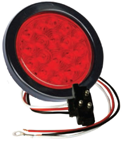 F235154-24 | Red, 4in Dia. 18 LED Sealed Kit