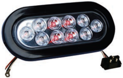 F235186 | Oval 10 LED Lights (12 Volts)