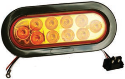 F235190-24 | Amber, Oval marker light LED Kit