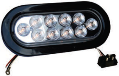F235196 | Oval 10 LED Lights (12 Volts)
