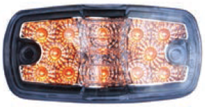 F235232-24 | Amber Clear, Double, Side marker light 12 LED