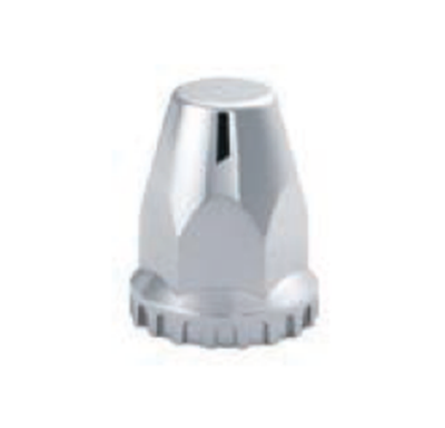 F245704 | CHROME THREADED NUT COVER WITH FLANGE