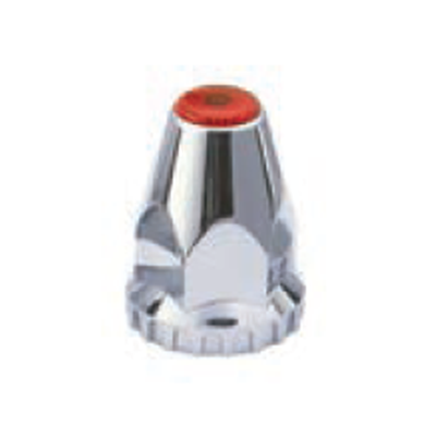 F245705-R | COLOR TOP, REFLECTOR THREADED NUT COVER WITH FLANGE