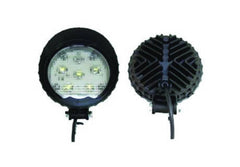 WORK LAMP ROUND HIGH POWER 6 LED 9 32 VOLT