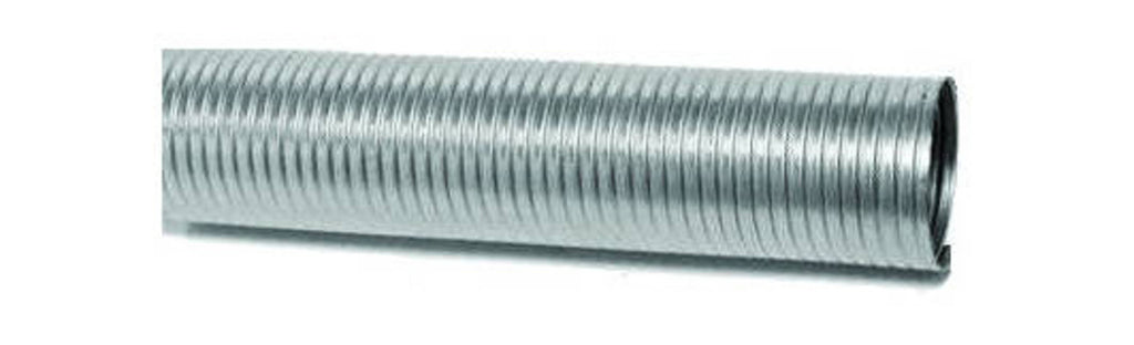 "FLEXIBLE TUBING 25 F.T. COILS 4"" I.D. STAINLESS STEEL 25 F.T. ROLL 4-9/32 O.D."