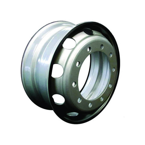 "F286434 | WHEEL 22.5"" X 8.25"" (EUROPEAN HUB) 10 HAND HOLES, 10 BOLDS"